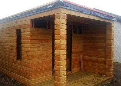 Custom made contemporary summer house