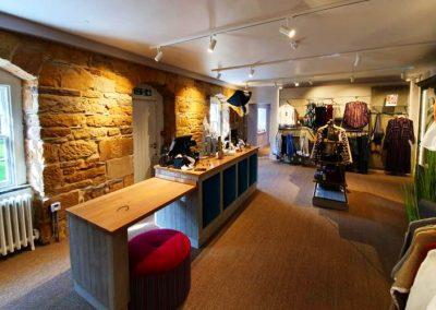 Large clothes shop renovation in Dornoch