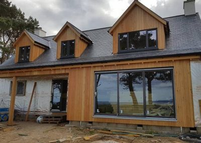 Just a wee look at the exterior of one of the houses we are building