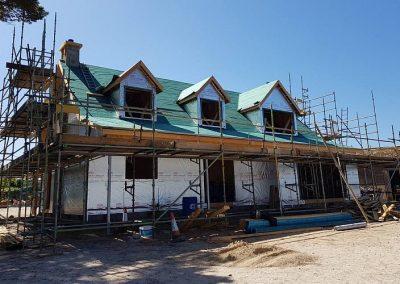New build house in Dornoch
