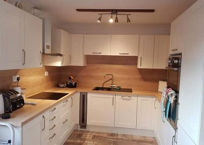 New kitchen fitted