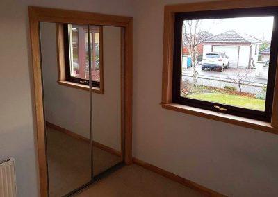 All new oak doors and finishings