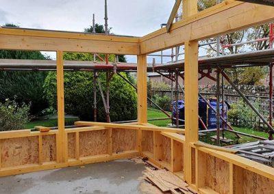 New extension & porch in Dornoch